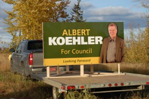 City Councillor Albert Koehler
