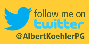 Follow Albert Koehler on Twitter Button